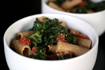 Sauteed kale and pasta recipes