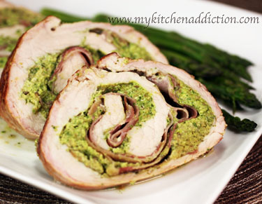 Lemon- And Prosciutto-Stuffed Pork Loin Roast With Broccolini Recipes ...