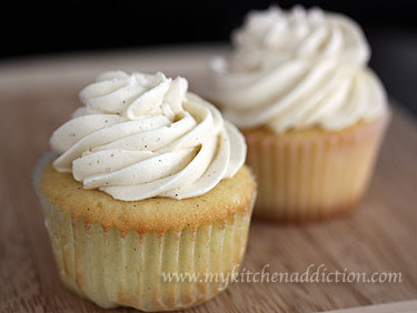 Vanilla Bean Cupcakes – my kitchen addiction