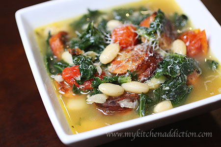 Italian Sausage, Kale, And Cannellini Bean Soup Recipes — Dishmaps
