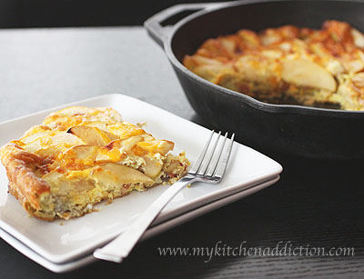 Apple Bacon Cheddar Frittata (Whole Family Cookbook) – my kitchen ...