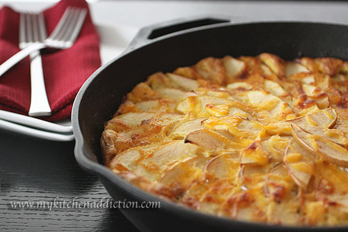 Apple Bacon Cheddar Frittata (Whole Family Cookbook) | my kitchen ...