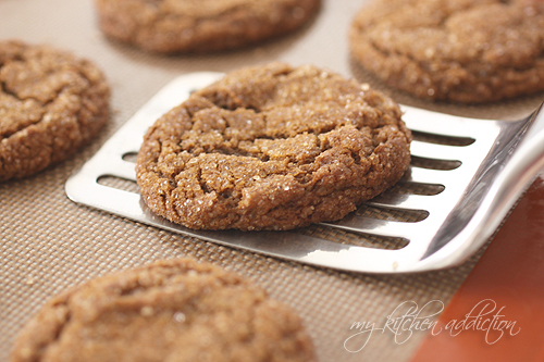 Molasses Crinkles – Food Blogger Cookie Swap – my kitchen ...