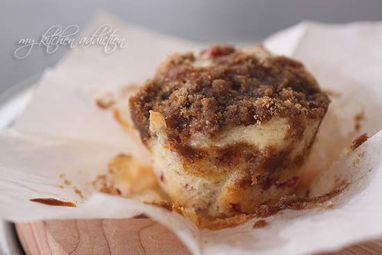 Cranberry Coffee Cake Muffins My Kitchen Addiction