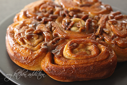 Sticky Pecan Mini-Buns Recipes — Dishmaps