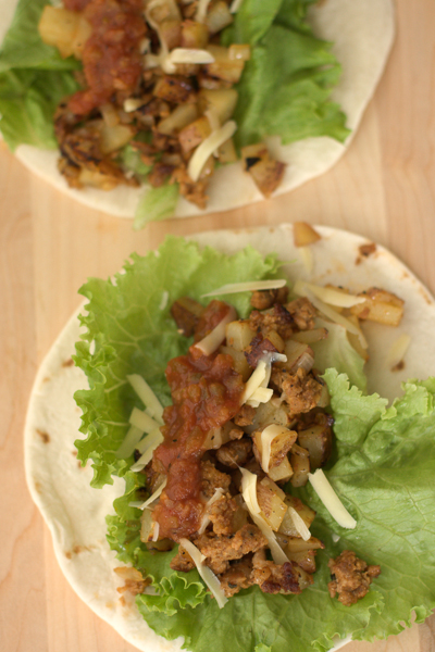 Chorizo And Potato Breakfast Tacos Recipes — Dishmaps